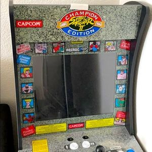 ArcadeUp StreetFighter2 game